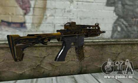 M4A1 pour GTA San Andreas deuxième écran