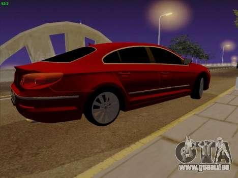 Volkswagen Passat CC pour GTA San Andreas laissé vue