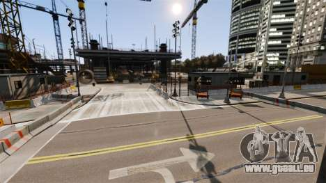Illégales de la rue de la dérive de la piste pour GTA 4 dixièmes d'écran