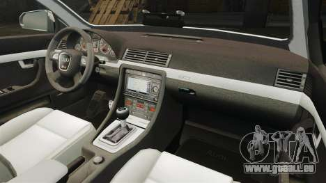 Audi S4 Avant TEK [ELS] pour GTA 4 est un côté