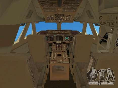 Boeing 747 Air China pour GTA San Andreas salon