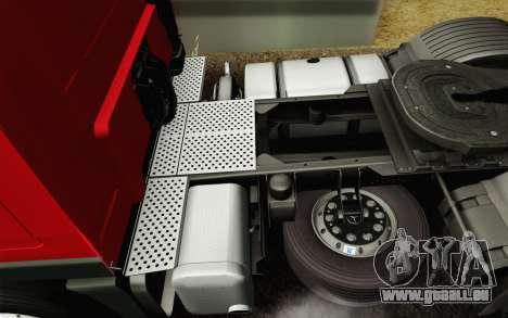 Mercedes-Benz Actros pour GTA San Andreas salon
