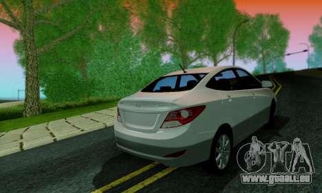 Hyndai Solaris pour GTA San Andreas salon
