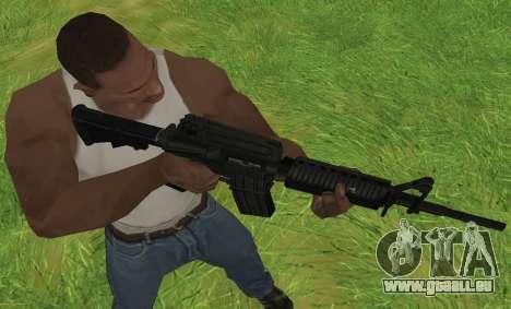 M4A1 pour GTA San Andreas cinquième écran
