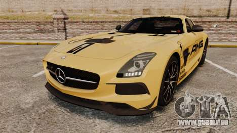 Mercedes-Benz SLS 2014 AMG Driving Academy v2.0 pour GTA 4