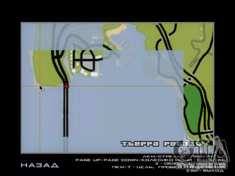 Douanes SF-LV pour GTA San Andreas septième écran
