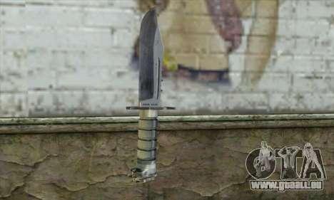 Die Messer von Stalker für GTA San Andreas