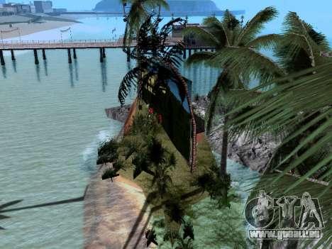 Neue Insel v1.0 für GTA San Andreas fünften Screenshot