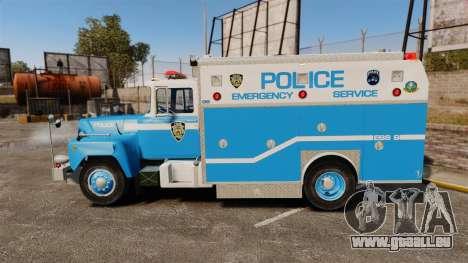 Mack R Bronx 1993 NYPD Emergency Service für GTA 4 linke Ansicht