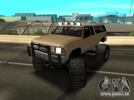 Nouveau Monstre pour GTA San Andreas