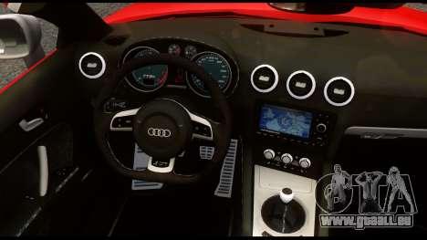 Audi TT RS v1.0 pour GTA 4 Vue arrière