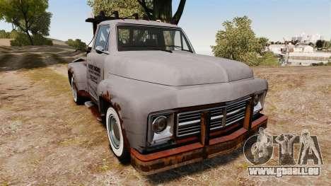 GTA IV TLAD Vapid Tow Truck für GTA 4