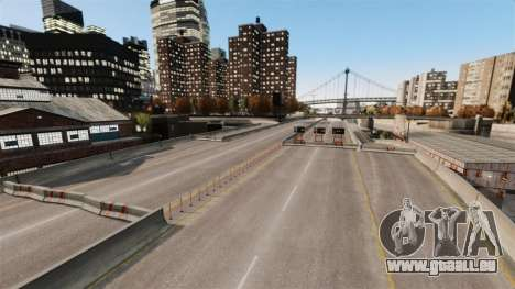 Illégales de la rue de la dérive de la piste pour GTA 4 sixième écran