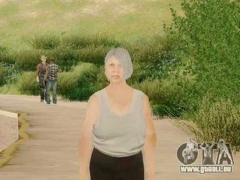 Femme âgée pour GTA San Andreas troisième écran