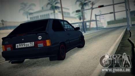 La VAZ-2113 pour GTA San Andreas laissé vue