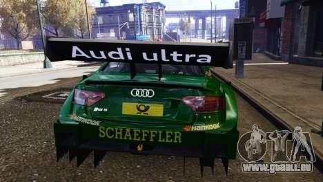 Audi RS5 DTM für GTA 4 rechte Ansicht