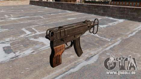 SMG Skorpion vz. 61 pour GTA 4 secondes d'écran