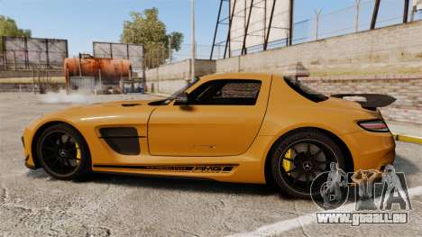 Mercedes-Benz SLS 2014 AMG Performance Studio für GTA 4 linke Ansicht