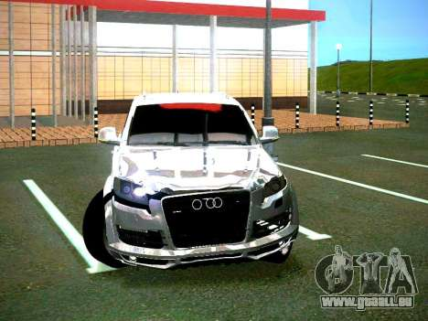 Audi Q7 pour GTA San Andreas sur la vue arrière gauche