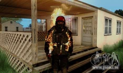 Kopassus Skin 1 für GTA San Andreas sechsten Screenshot