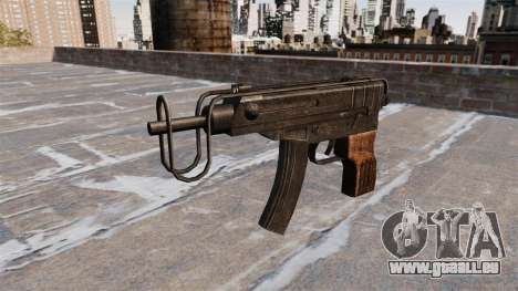 SMG Skorpion vz. 61 pour GTA 4 troisième écran