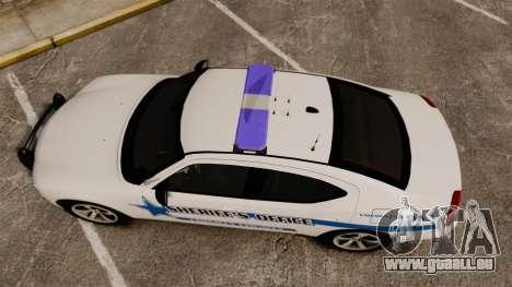 Dodge Charger 2010 Liberty County Sheriff [ELS] für GTA 4 rechte Ansicht