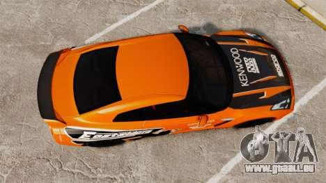 Nissan GT-R 2012 Black Edition NFS Underground für GTA 4 rechte Ansicht