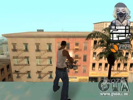 C-hud by Mark Osborne pour GTA San Andreas deuxième écran