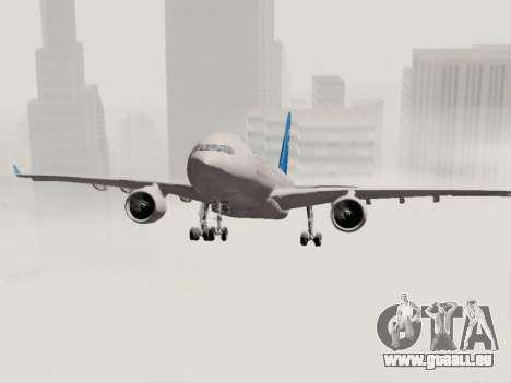 A330-202 China Eastern pour GTA San Andreas vue de côté