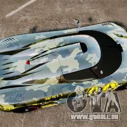 Koenigsegg One:1 pour GTA 4 est un droit