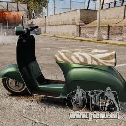GTA IV TBoGT Pegassi Faggio für GTA 4 linke Ansicht