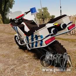 Portugiesische Polizei Motorrad [ELS] für GTA 4 rechte Ansicht
