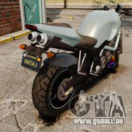 GTA V Pegassi Ruffian pour GTA 4 est un droit