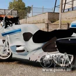BMW R1150RT Police municipale [ELS] pour GTA 4 est une gauche