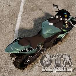 Yamaha R1 RN12 [Update] für GTA 4 hinten links Ansicht