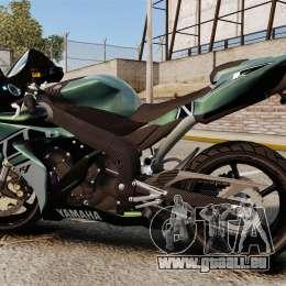 Yamaha R1 RN12 [Update] für GTA 4 linke Ansicht