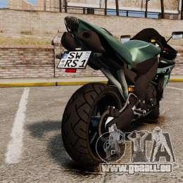 Yamaha R1 RN12 [Update] für GTA 4 rechte Ansicht