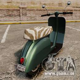 GTA IV TBoGT Pegassi Faggio für GTA 4 rechte Ansicht
