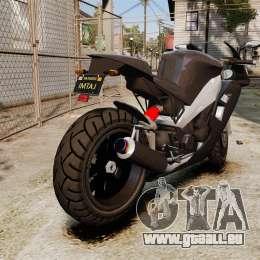 GTA V Nagasaki Carbon RS pour GTA 4 est un droit