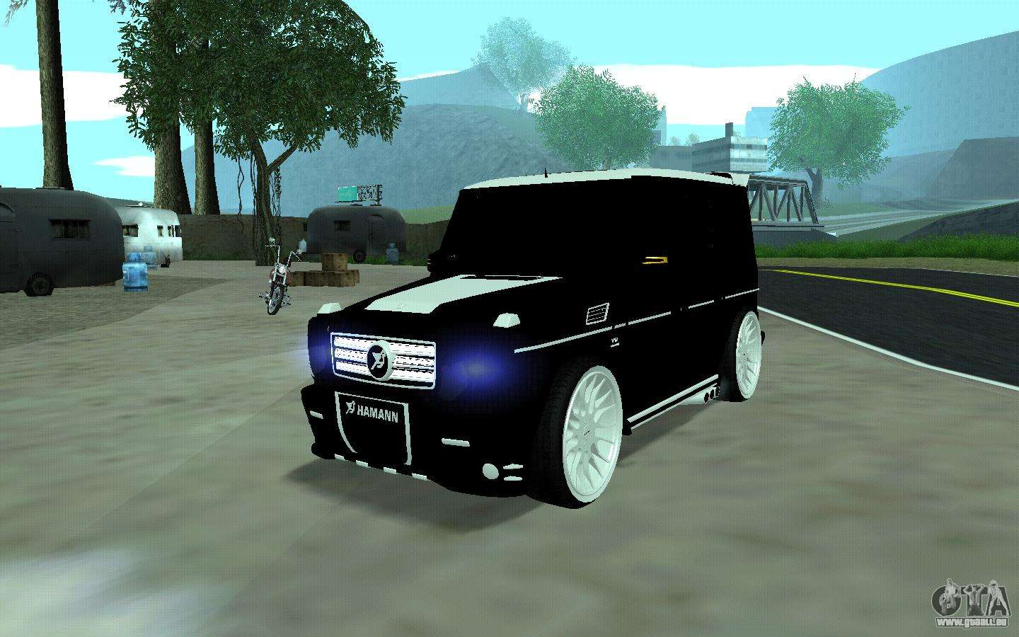mercedes g65 new tuning pour gta san andreas. Black Bedroom Furniture Sets. Home Design Ideas