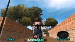 C-HUD Google pour GTA San Andreas