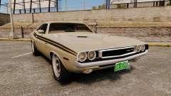 Dodge Challenger RT 1972 für GTA 4