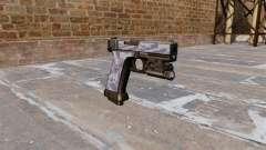 Die Pistole Glock 20 Blue Tiger