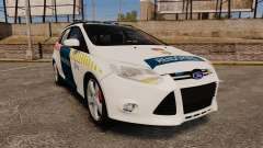 Ford Focus 2013 Hungarian Police [ELS] pour GTA 4