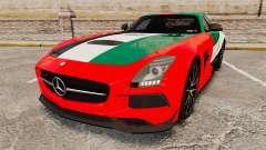 Mercedes-Benz SLS 2014 AMG UAE Theme