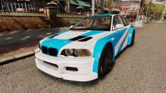 BMW M3 GTR 2012 Most Wanted v1.1 pour GTA 4