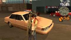 C-HUD Marilyn Monroe für GTA San Andreas
