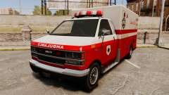Iranien de la peinture ambulance