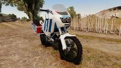 Portugais motocyclette de la police [ELS]