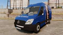 Mercedes-Benz Sprinter 2011 WWE Ultimate Warrior